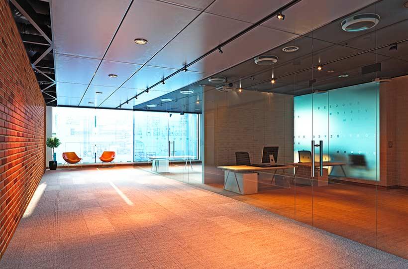 Büro Innenansicht, Referenz-Shop der Figo Gmbh, Shopdesign, Shopkonzeption, Projektleitung und Bauleitung