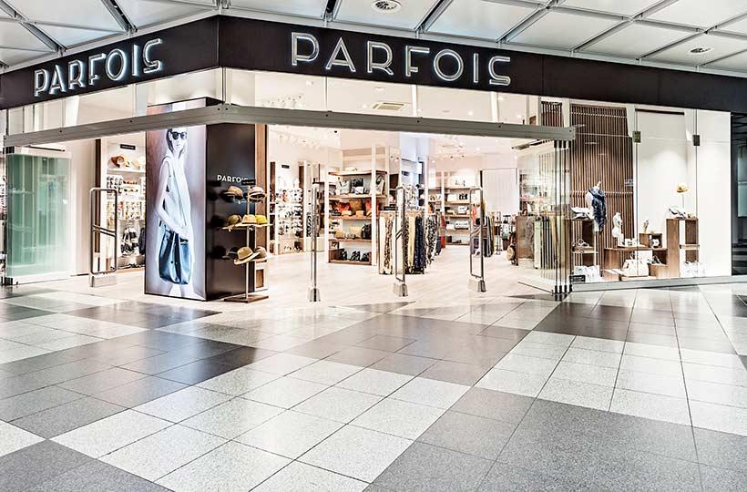 Außenansicht eines Parfois Shops, Referenz-Shop der Figo Gmbh, Shopdesign, Shopkonzeption, Projektleitung und Bauleitung