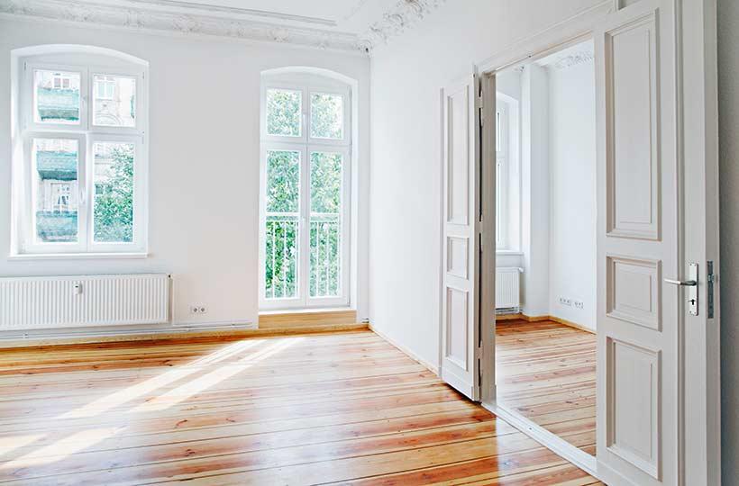 Innenansicht einer Wohnimmobilie, Referenz-Shop der Figo Gmbh, Shopdesign, Shopkonzeption, Projektleitung und Bauleitung