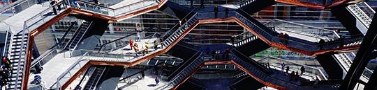 Escalera - Figo GmbH - diseño de tienda, conceptualización de tienda, dirección de proyecto und dirección de obra