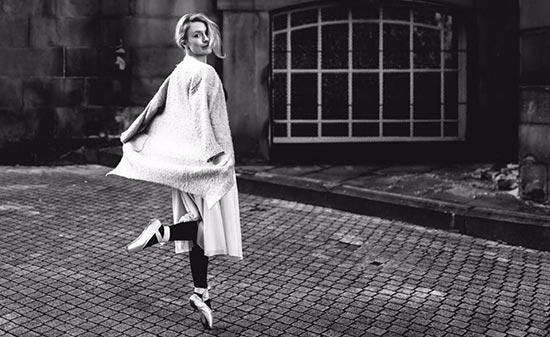 Carina Gerards beim Ballet - Figo GmbH - Shopdesign, Shopkonzepte, Bauleitung, Projektmanagement