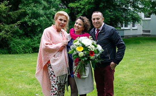 Hedieh Shirvani mit ihren Eltern - Figo GmbH - Shopdesign, Shopkonzepte, Bauleitung, Projektmanagement