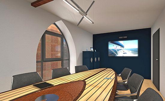 Visualisierung Büro - Figo GmbH - Shopdesign, Shopkonzepte, Bauleitung, Projektmanagement