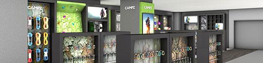 Visualisierung Store - Figo GmbH - Shopdesign, Shopkonzepte, Bauleitung, Projektmanagement