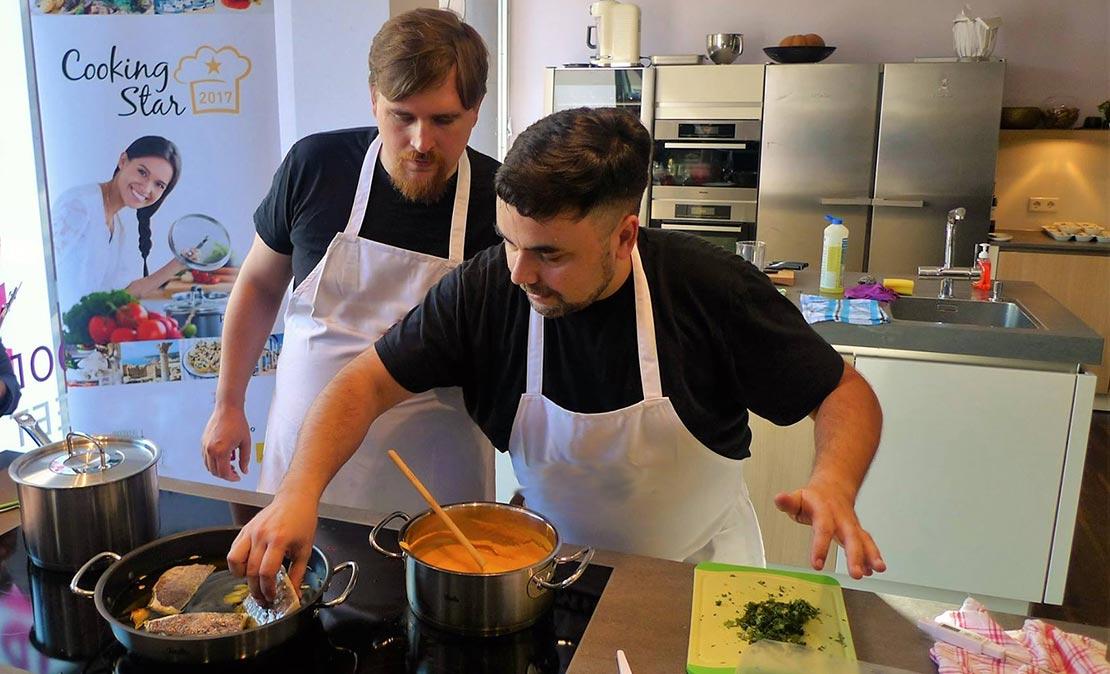 Figo stellt sich vor: Victor, der Koch