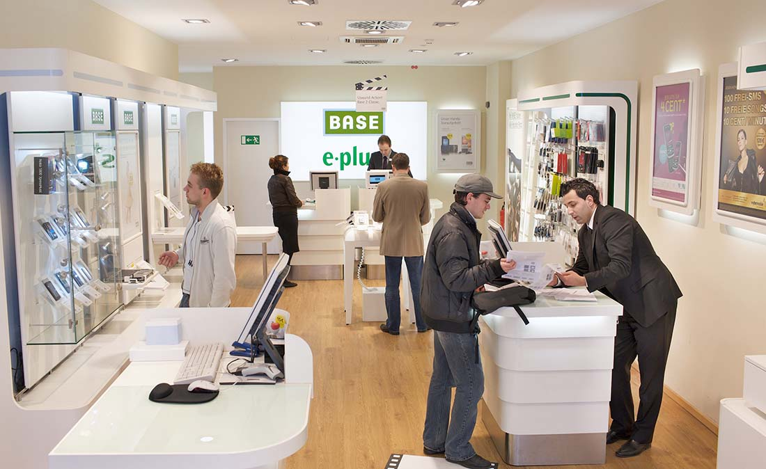Referenz-Shop der figo GmbH, Shopdesign, Shopkonzepte, Projektmangement, Bauleitung, Facility Management