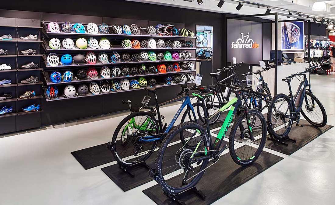Fahrrad.de - Referenz der Figo Gmbh, Shopdesign, Shopkonzeption, Projektleitung und Bauleitung