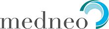 Logo der Referenz medneo  - figo GmbH, Shopkonzepte, Shopdesign, Ladenbau, Projektleitung