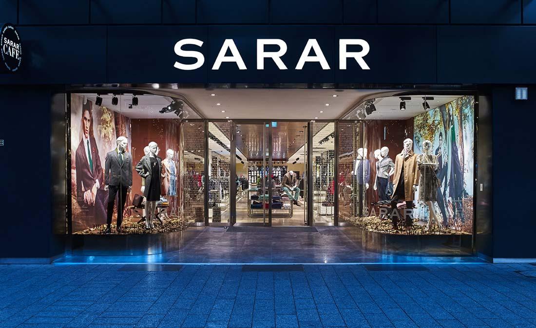 sarar - Referenz der Figo Gmbh, Shopdesign, Shopkonzeption, Projektleitung und Bauleitung