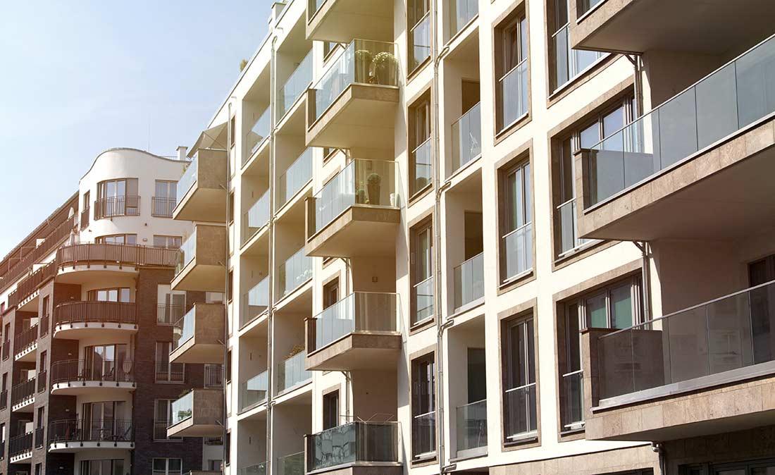 Außenansicht Wohnimmobilien - Referenz der Figo Gmbh, Shopdesign, Shopkonzeption, Projektleitung und Bauleitung